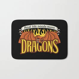 More Dragons Bath Mat