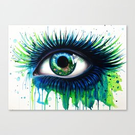 -The peacock- Canvas Print