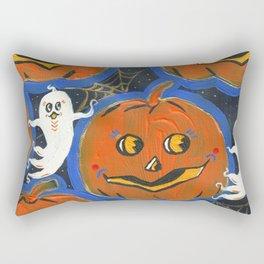 Spooky Jack o' lanterns Rectangular Pillow