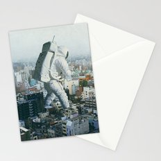 Stepping On Stationery Cards