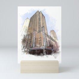 Radio City Music Hall Mini Art Print
