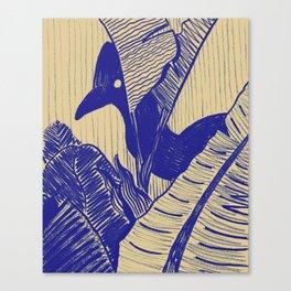 Cassowary Hide 'N Seek Canvas Print