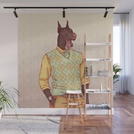 Rudolph the Great Dane Wall Mural