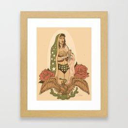 tres mujeres Framed Art Print