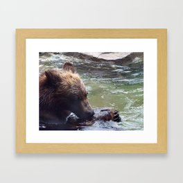 Is It Ok To Eat Wood? Framed Art Print