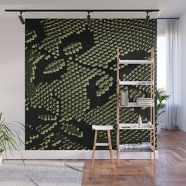 olive lace Wall Mural