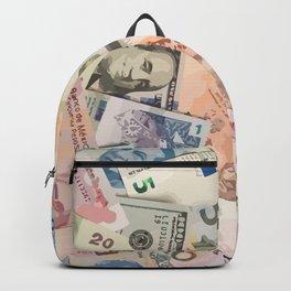 Money dollars Backpack
