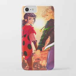 Miraculous Ladybug - Marinette and Adrien iPhone Case