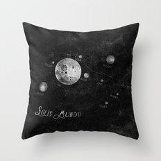 Solis Mundo I Throw Pillow