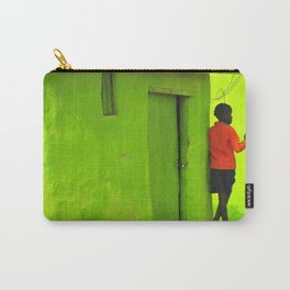 Green House Carry-All Pouch