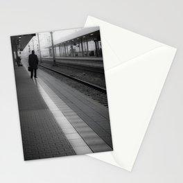 Mannheim Train Station (vertical) Stationery Cards