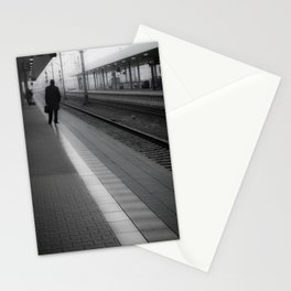 Mannheim Train Station (vertical) Stationery Cards