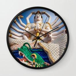 Goddess of Compassion Wall Clock