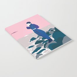 Woman by the sea Notebook