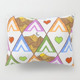 Backpacking nature Pillow Sham