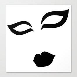ZW Face Canvas Print