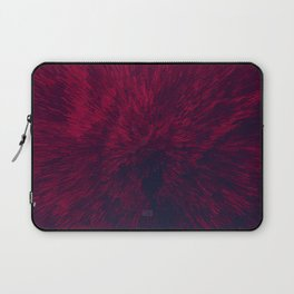 Bold Burst in Red Laptop Sleeve