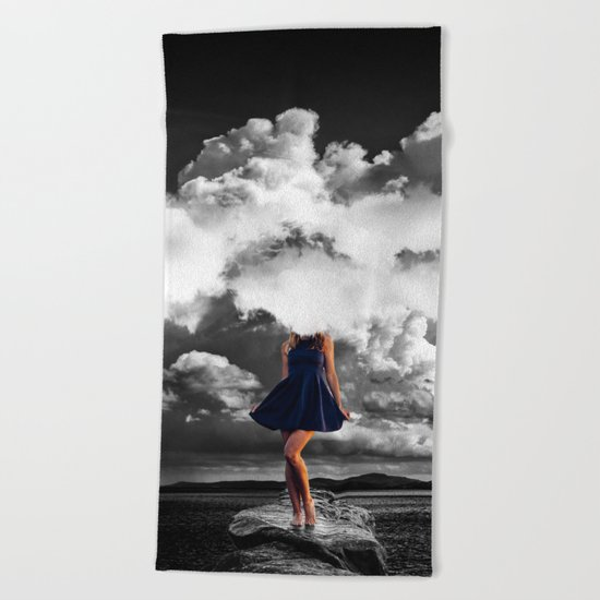 High as Sky Beach Towel