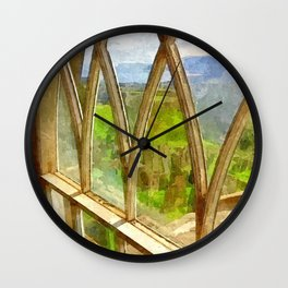 Church Window Wall Clock