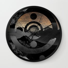 Somewhere not here IV Wall Clock