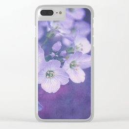 This Enchanted Evening. Clear iPhone Case