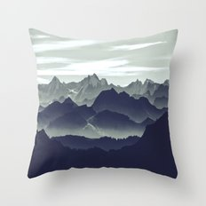 Mountains are calling for us Throw Pillow