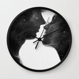 Couples of heaven. Wall Clock