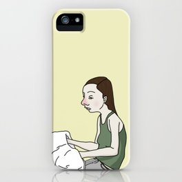 It's A Hand Thing iPhone Case
