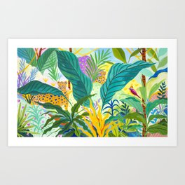 Paradise Jungle Art Print