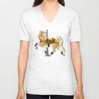 fili V-neck T-shirts featuring Fili by MarieJacquelyn