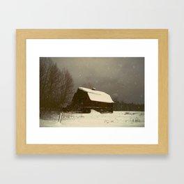 Barnstorm! Framed Art Print