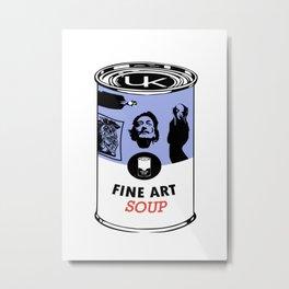 Fine Art Soup Metal Print
