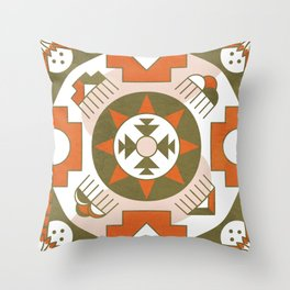 Eototo Kachina Throw Pillow