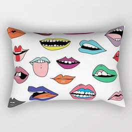 Word of mouth Rectangular Pillow