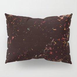 Spring black pink Pillow Sham
