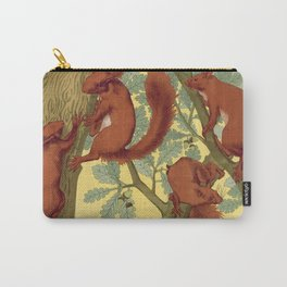 Vintage Squirrel Design, 1897 Carry-All Pouch