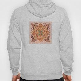 Brown Mandala 02 Hoody