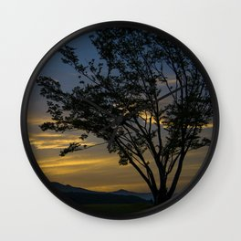 Gapyeong Sunset #2 Wall Clock