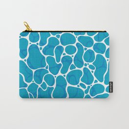 The Great Sea: Graphic Ocean Water Pattern Carry-All Pouch