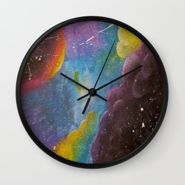 Past Existence Wall Clock