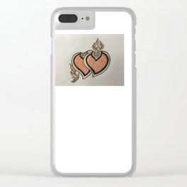 Valletynhart Clear iPhone Case