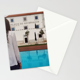 palacio do governador mulher Stationery Cards