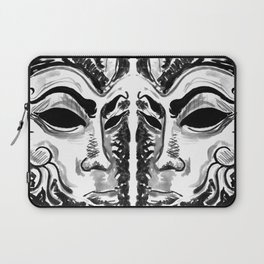 Dream of the Mask Laptop Sleeve