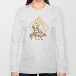 AZTEC Animals with Diamonds Long Sleeve T-shirt