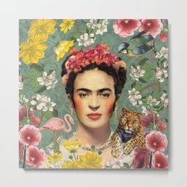 Frida Kahlo X Metal Print