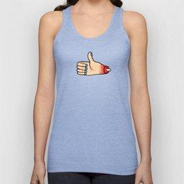 Thumbs up Unisex Tank Top