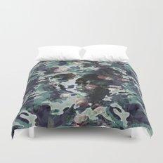 Camouflage Skull V2 Duvet Cover