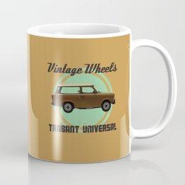 Vintage Wheels: Trabant 601 Universal Coffee Mug