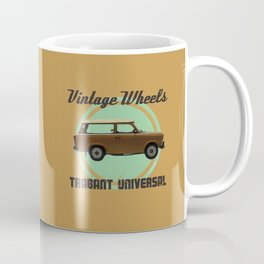 Vintage Wheels: Trabant 601 Universal Coffee Mug