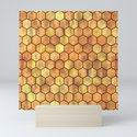 Golden Honeycomb Pattern by olooriel